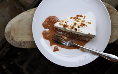 Ginny's favorite!  Heath Bar Trifle